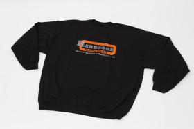 Zwart Sweatshirt met Capuchon / Schwarz Kapuzen-Sweatshirt.
